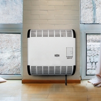 Газовый конвектор Alpine Air (чугунный теплообменник, без вентилятора)