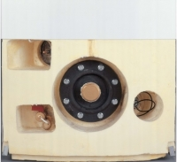 Бойлер косвенного нагрева BOSCH ST 120-2E (напольный, вертикальный, рециркуляция, датчик темп)