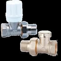 Комплект вентилей STI для радиаторов (ручное регулирование)