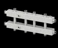 Гидравлический разделитель универсальный (коллектор) СЕВЕР-КМ5 (5 контуров)