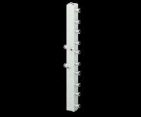 Гидравлический разделитель универсальный (коллектор) СЕВЕР-КV5 (5 контуров)