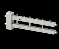 Гидравлический разделитель (гидрострелка) с коллектором СЕВЕР-М4 (4 контура, 70 кВт)