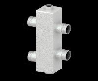 Гидравлический разделитель (гидрострелка) СЕВЕР-80 (1 контур, 80 кВт)