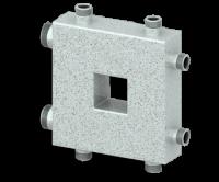 Гидравлический разделитель (гидрострелка) СЕВЕР-КОМПАКТ (3 контура, 50 кВт)