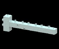 Гидравлический разделитель (гидрострелка) с коллектором СЕВЕР-T3 (3 контура, 70 кВт)