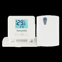 Термостат TEPLOCOM TS-2AA/3A-RF (комнатный, беспроводной)