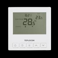 Термостат TEPLOCOM TS-PROG-220/3A (комнатный, встраиваемый, программируемый)