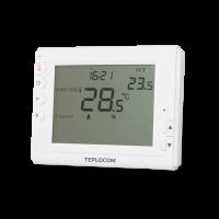 Термостат TEPLOCOM TS-PROG-2AA/8A (комнатный, проводной, программируемый)