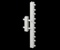 Гидравлический разделитель (гидрострелка) с коллектором СЕВЕР-V5 (5 контуров, 70 кВт)